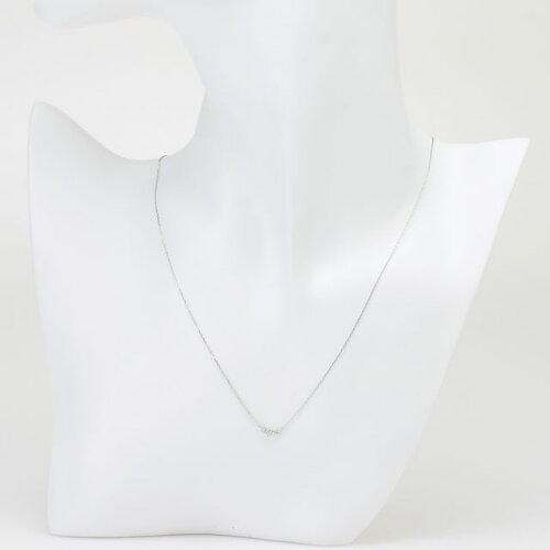 ハッピーキャンドルK18WG/H&CダイヤネックレスD50088