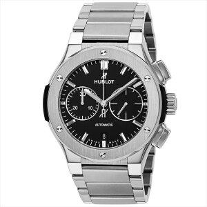 ウブロ HUBLOT メンズ 腕時計 クラシックフュージョンチタニウムクロノグラフ 520.NX.1170.NX