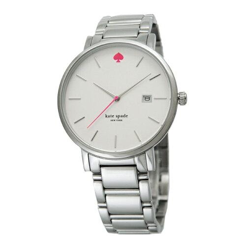 katespadeケイトスペードGramercyグラマシーレディース腕時計シルバー×ホワイト1YRU0008WH