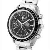 オメガ OMEGA 腕時計 スピードマスターデイデイト メンズ ブラック 3220.5