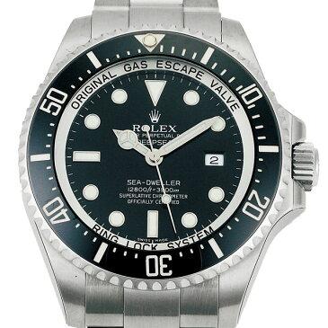 ロレックス ROLEX シードゥエラー メンズ 腕時計 ブラック 116660