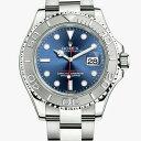 ロレックス ROLEX ヨットマスター メンズ 腕時計 ブル...