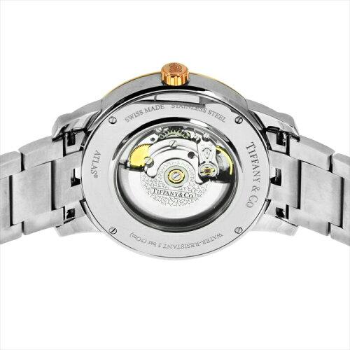 Tiffany&Co.ティファニーメンズ腕時計AtlasDomeZ1810.68.13A21A00Aシルバー