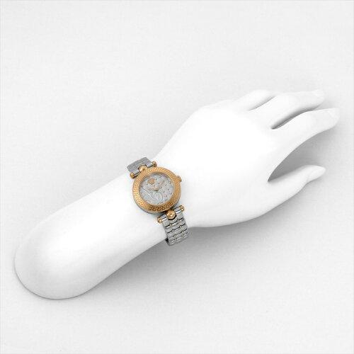 ヴェルサーチVERSACE腕時計マイクロバニタスVQM110016シルバー