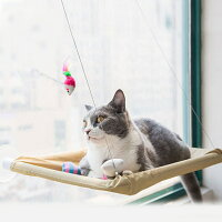猫ハンモック吸盤式吸盤窓窓用窓際ベッドマット寝具窓貼付け日向ぼっこ昼寝日光浴ストレス解消取り付け簡単耐重15kg