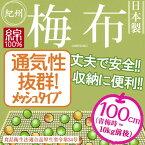 【イシミズ】メッシュタイプ梅布【100×100cm】【細かい目タイプ】紀州 日本製 綿100% 梅干し 野菜干し ザル・ゴザ・すだれ・えびら代わりに UMENUNO