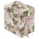 【姫系雑貨】アクアフラワーコスメボックス:レガートローズメイクボックス 化粧ボックス 収納 おしゃれ プレゼント ギフト