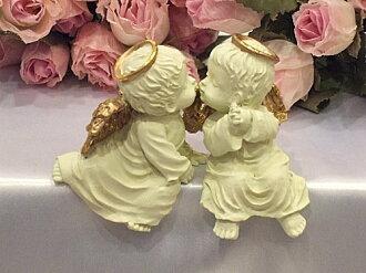 ペアエンジェル mascot Angel figurine sculpture Angel gardening rose gift presents popular picks