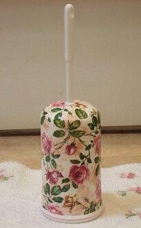 陶瓷馬桶刷 w / 展臺︰ 古董上升 B 時尚馬桶刷持有人陶瓷公廁清潔廁所