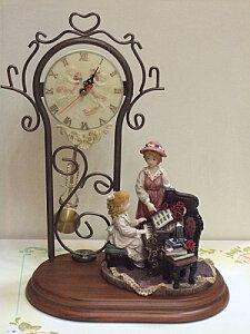 【送料無料】振り子時計:ピアノ