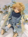 若月まり子 ビスクドール「ベビーフェアリー:B」【楽ギフ_包装】【楽ギフ_のし】ビスクドール 御祝 贈答 創作人形 ギフト 結婚祝 出産祝 記念品
