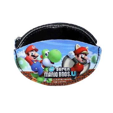 [ゆうパケット可]財布 子供用財布 New スーパーマリオブラザーズU (SUPER MARIO) コインケース キャラクターポチ袋 お年玉袋