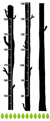 柱にも貼れる!木の身長計ウォールステッカー☆