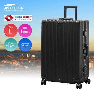 1年保証 スーツケース キャリーバッグ キャリーケース 軽量 Lサイズ 大型 大容量 フレーム おしゃれ おすすめ tsaロック ダイヤル式 旅行バッグ 旅行かばん 旅行鞄 メンズ レディース STRAIGHT NEO ●[送料無料]