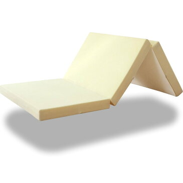 〈1年保証〉高反発マットレス 10cm セミダブル 三つ折り 3つ折り 150N 180N 高反発 マット ベッド 敷き布団 三つ折 折りたたみ 低反発マットレス と使い替えても マットレス 高反発マット 寝具[送料無料]