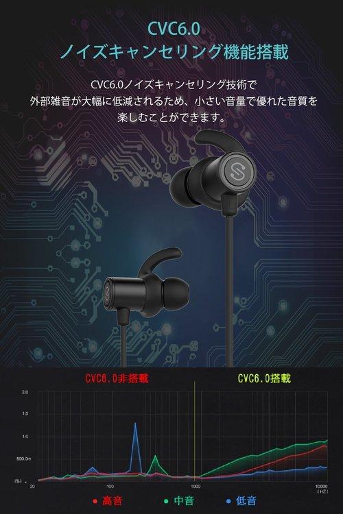 【メーカー直営・100%正規品】SoundPEATS(サウンドピーツ) Q30Plus ワイヤレスイヤホン ブルートゥース イヤホン Bluetooth ワイヤレス マイク ハンズフリー ヘッドホン【30日間返品フリー&1年間メーカー保証付】