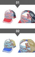 【送料無料】子供帽子メッシュキャップキッズ帽子子供帽子プリントメッシュキャップ帽子よりどり2個子供用帽子UV対策サイズ調整夏男の子男通学通園日焼けあす楽送料無料ワッペン刺繍