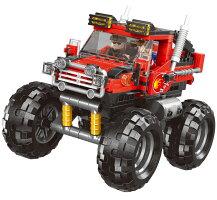 ブロック モンスタートラック 車 ブロック互換品 プレゼント 入学プレゼント 入学お祝い クリスマスプレゼント 知育玩具 おもちゃブロック