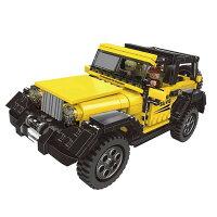ブロック ジープ 車 ブロック互換品 プレゼント 入学プレゼント 入学お祝い クリスマスプレゼント 知育玩具 おもちゃブロック