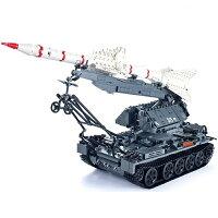 ブロック ミリタリーSA-2 ミサイル戦車 ブロック互換品 プレゼント 入学プレゼント 入学お祝い クリスマスプレゼント 知育玩具 おもちゃブロック