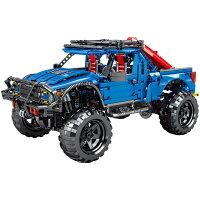 ブロック F-150ラプター スーパーキャブ車 ブロック互換品 プレゼント 入学プレゼント 入学お祝い クリスマスプレゼント 知育玩具 おもちゃブロックお祝いプレゼント
