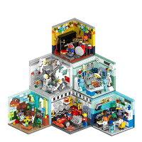 ブロック ミニモジュール式 将来の夢 他6個セット ブロック互換品 プレゼント 入学プレゼント 入学お祝い クリスマスプレゼント 知育玩具 おもちゃブロックお祝いプレゼント