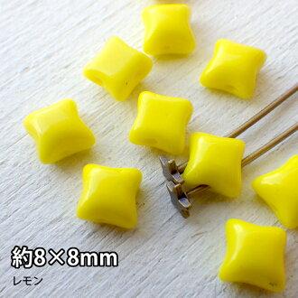 串珠的珠配件捷克珠 O (約 1 × 4 毫米水晶洋紅色) 50 片
