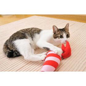 ペティオけりぐるみエビ猫用猫用おもちゃぬいぐるみ