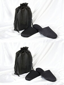 スリッパ ブラック グログラン フォーマル