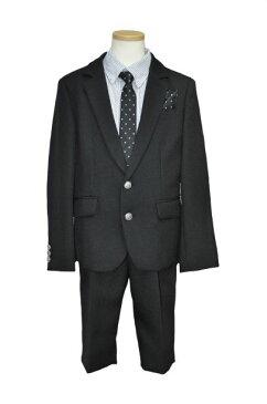 cdba5278b9ec3 セール価格 2つ釦総裏ジャケット バミューダパンツブラックスーツ 男の子用 130サイズ