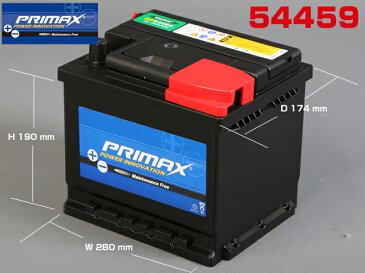 新品バッテリー54459 シトロエン AX・BX・CX・ZX・C15適合品 専門誌・雑誌等で証明された高性能 PRIMAX(プリマックス)バッテリー