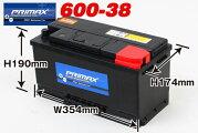 PRIMAXバッテリー(600-38)12V