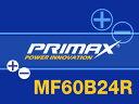 PRIMAX バッテリー(60B24R) 12V 国産車用 ジムニー16年〜ABA-JB23W/K6A/660cc適合新品バッテリーB24R