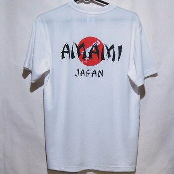 AMAMIJAPANTシャツ奄美日本速乾素材のドライTシャツ