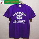 U.S.AMAMI TシャツPURPLE