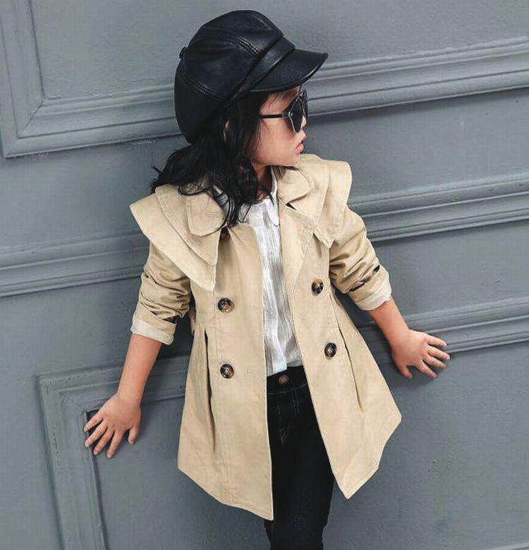 子供服 トレンチコート フート付きアウター 子供 トレンチ コート 春秋コート 子供 スプリングコート