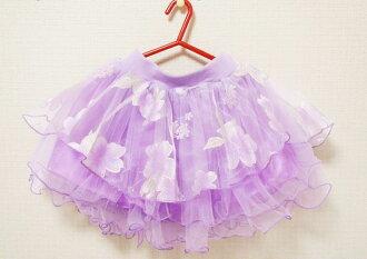 ★ 花香 ! 超級可愛雪紡短裙裙子 ★ 裙子女孩芭蕾短裙的孩子兒童裙子為孩子孩子裙子小孩裙子裙子兒童裙子女孩裙子 120 釐米 120 釐米女孩子穿裙子