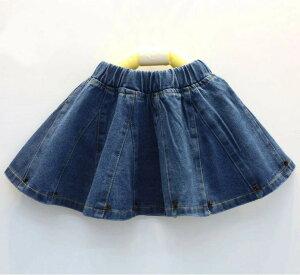 【数量限定値引き】子供 デニムスカート 女の子 スカート 子供服 デザインデニム キッズ スカート 子供 デニム