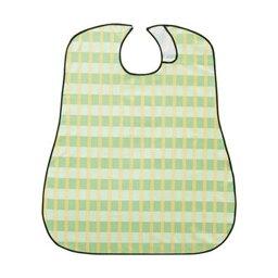 【ポイント20倍】(まとめ)竹虎 ソフラピレンエプロンボーダーチェック グリーン 1枚【×20セット】