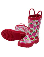 Hatleyハットレイレインブーツキッズ長靴女の子雪人気おすすめブランドいちご