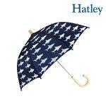 新作Hatleyハットレイ傘サメ子供用キッズ男の子人気おすすめブランドセレブ愛用プレゼントギフト持ち手木製露先丸安全手開き式で開閉の操作時に指を挟む心配の無い安心カバー付き