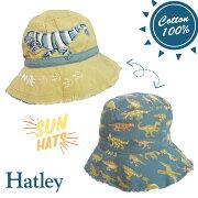 Hatleyハットレイキッズ帽子恐竜リバーシブルSPF50UVカットセレブ愛用ブランドプレゼントギフト洗濯OK男の子