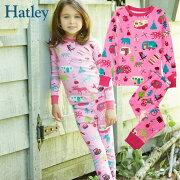 Hatleyハットレイキッズパジャマコットン100%長袖ピクニック柄
