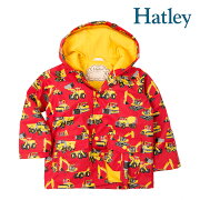 Hatleyハットレイレインコートキッズトラックショベルカージャケット男の子人気おすすめブランドセレブ愛用プレゼントギフト9095