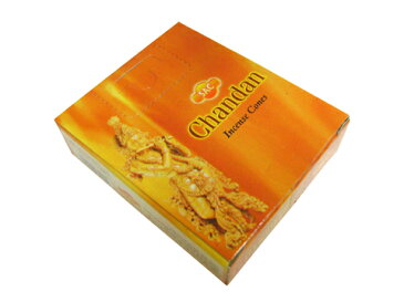 お香 チャンダン香コーンタイプ /SAC CHANDAN CORN/インセンス/インド香/アジアン雑貨(ポスト投函配送選択可能です/6箱毎に送料1通分が掛かります)