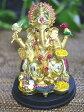 インドの神様ガネーシャの置物 カラフルバージョン4/エスニック/アジアン雑貨