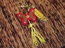 台湾台北艋舺龍山寺のお守り!(その6小蝴蝶香包)幸運の香り袋のお守りです。/エスニック/アジアン雑貨(ポスト投函配送選択可能です)