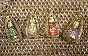 タイ-ワット・ラカンの鐘のプラクルアン!タイでは超有名なお守りの一種です!/タイのお守り/エスニック/アジアン雑貨(ポスト投函配送選択可能です)