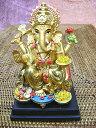 インドの神様ガネーシャの置物 カラフルバージョン4