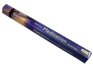 お香 ダルシャン メディテーション香 スティック /DARSHAN MEDITATION/インセンス/インド香/アジアン雑貨(ポスト投函配送選択可能です/6箱毎に送料1通分が掛かります)